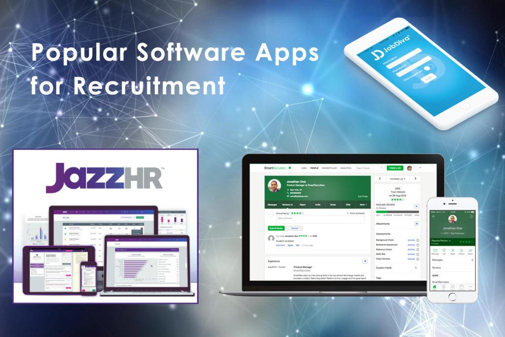 Popular Software Apps for End-To-End Recruitment